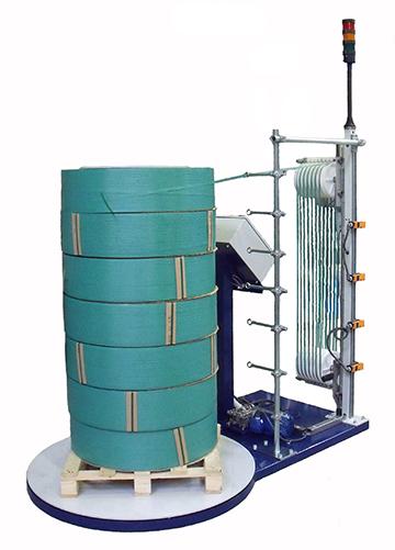 PETP Jumbo Coil Dispenser